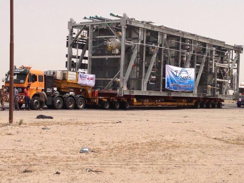 truck land trasport uae